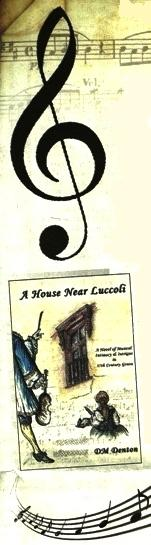 A House Near Luccoli with G Clef