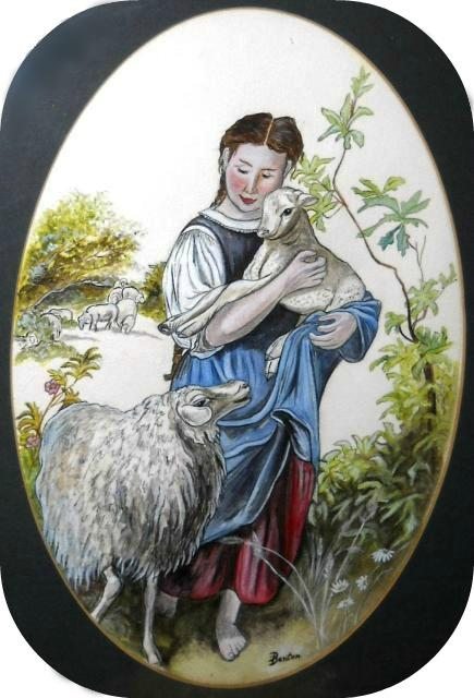 The Shepherdess Copy by DMD