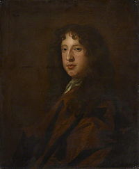 Portrait of Roger North by Peter Lely