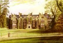 Antique Print of Wroxton Abbey