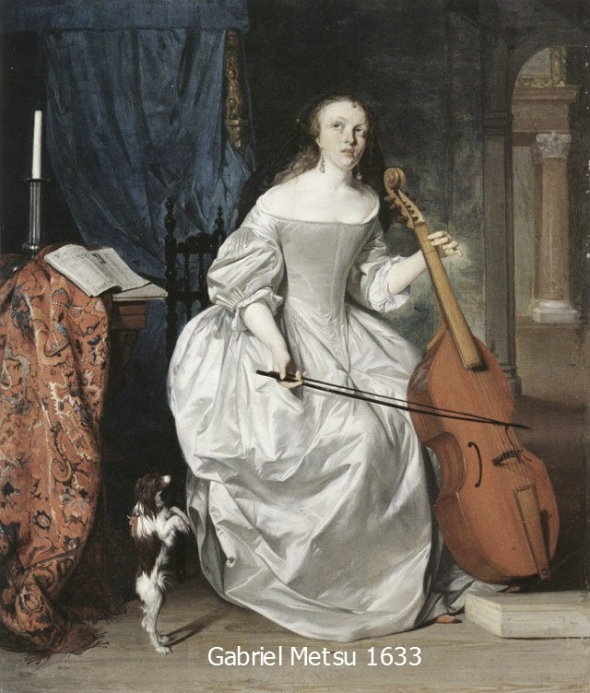 Woman playing viol par traverso_pe_pe