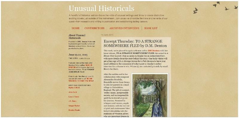 Unusual Historicals Blog Image resized