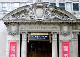 Chicago Civic Opera House front