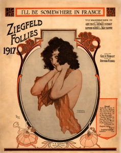 Ziegfeld Sheet Music - Ziegfeld Follies of 1917 (I'll Be Somewhere in France)