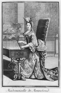 Mademoiselle de Mennetoud on Harpsichord