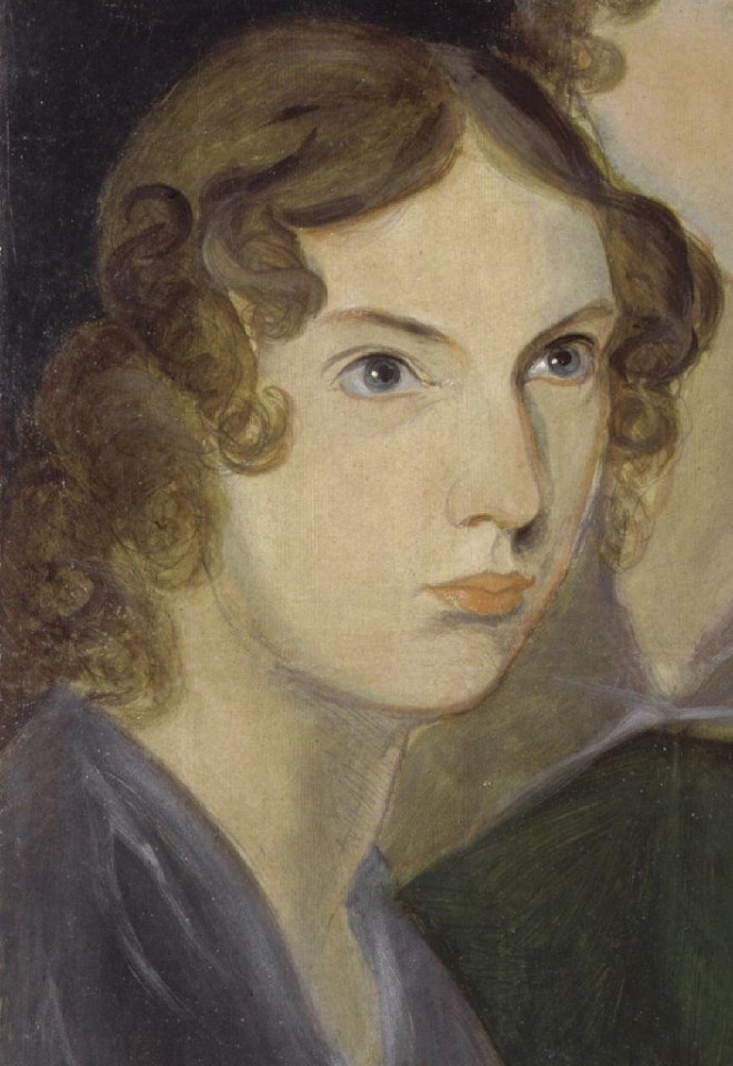 Anne, from a group portrait by her brother Branwell