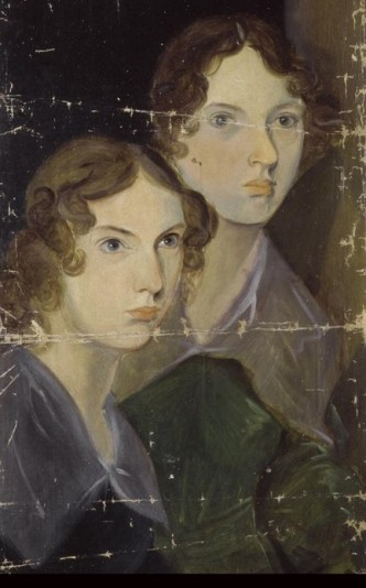 Emily and Anne Bronte cropped
