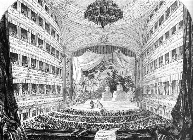Italian Opera House Covent Garden, London